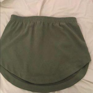 Marine layer skirt